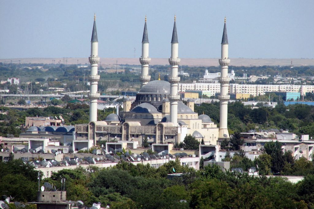 Mosque in Ashgabat