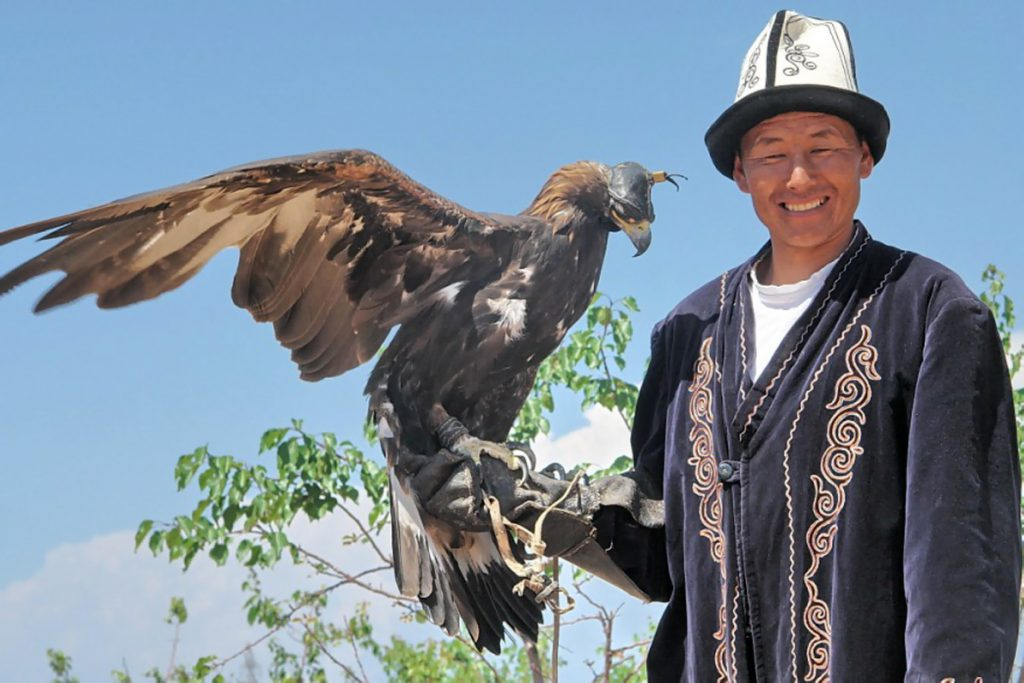 The eagle and the Hunter in Kyrgyzstan