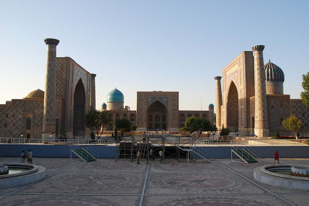 Registan square - Samarkand