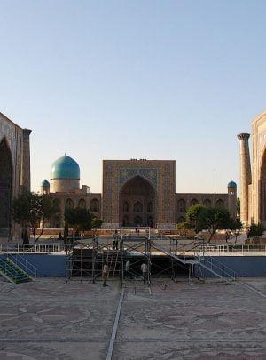 Registan square - Samarkand