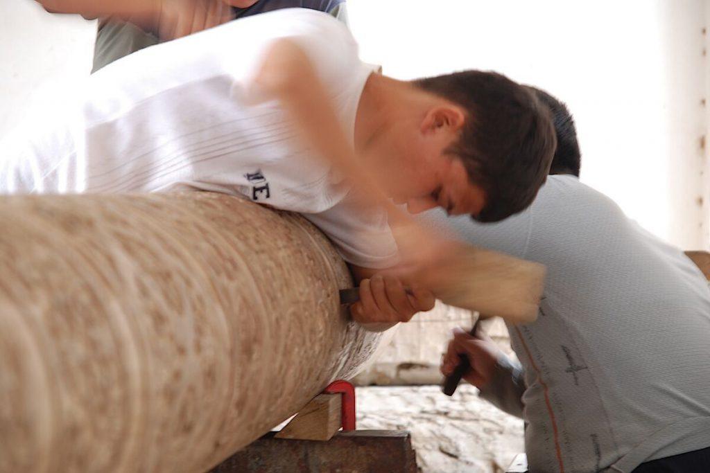 Wood carving - Uzbekistan