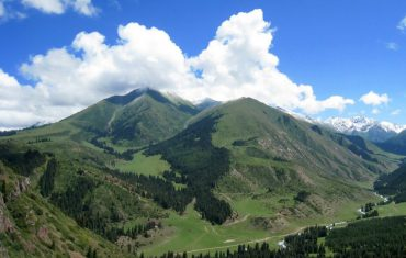Nature in Kyrgyzstan