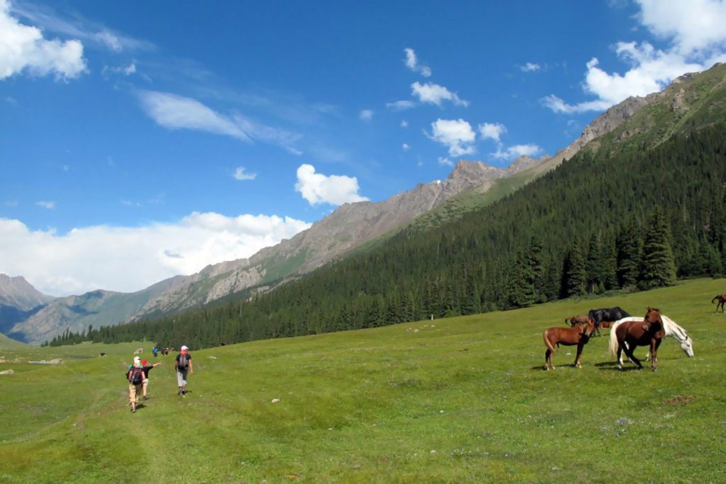 Mauntains in Kyrgyzstan