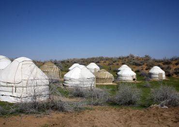 Usbekistan und Turkmenistan