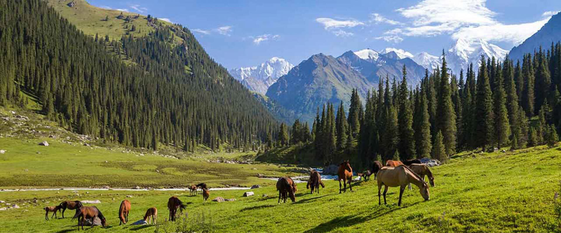 Amazing Landscapes of Kyrgyzstan