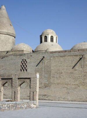 Mausoleum Chashma Ayub in Buchara