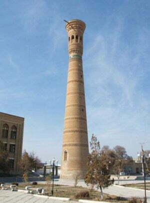 Minarett in Vabkent