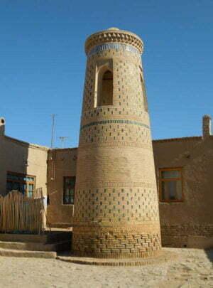 Minaret Murad-Tura in Khiva