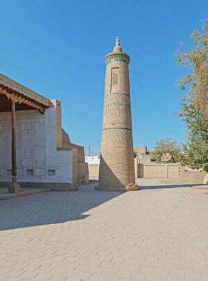 Minaret Turt Shaffaz in Khiva