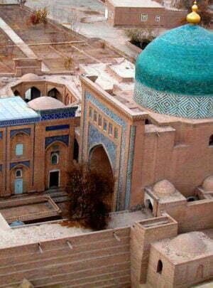 Pahlavon Mahmud Mausoleum in Khiva