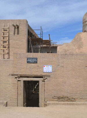 Hasan Murod Qushbegi Mosque in Khiva
