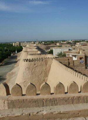 Ichan-Qal'a Mauern von Chiwa