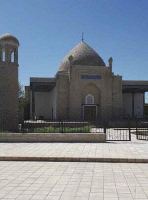 Malik Ashtar Mosque in Shakhrisabz